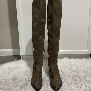 Mark Fisher Suede Over-The-Knee Boots